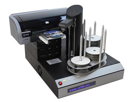 CD-Kopierroboter mit Drucker