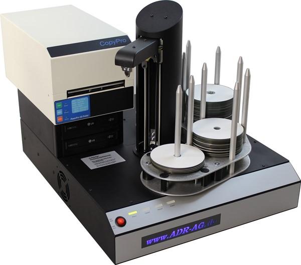 CD Roboter mit Thermodrucker